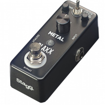 (B-Ware) Stagg Blaxx Metal Distortion-Bodeneffekt