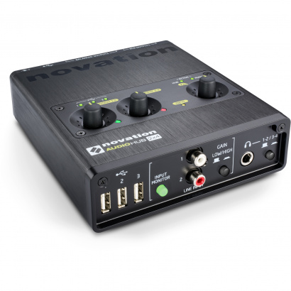 (B-Ware) Novation Audiohub 2x4 Audio-Interface und USB-Hub