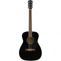 Fender Classic Design CC-60S Black acoustic guitar