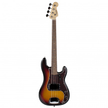 (B-Ware) Fender American Vintage 63 Precision Bass 3-Color Sunburst RW