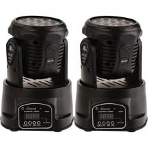 iDance MH180 wash moving head (set of 2)