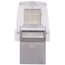 Kingston DataTraveler MicroDuo 3 C USB memory stick, 32 GB