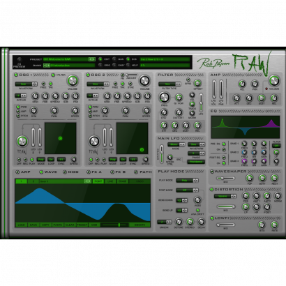 Rob Papen RAW virtual synthesizer (download)