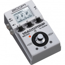 (B-Ware) Zoom Multistomp MS-50G digitales Multi-Effektpedal für Gitarren