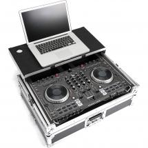 Magma DJ Controller Workstation flightcase for Numark NS6II