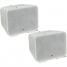 DAP Xi-3 installation speaker, 4-inch, white (set of 2)