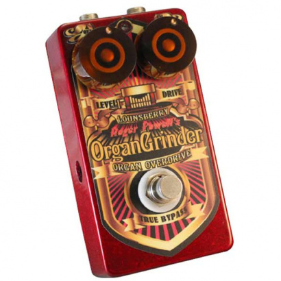 (B-Ware) Lounsberry Pedals OGO-1 Organ Grinder analoges Preamp/Overdrive-Pedal