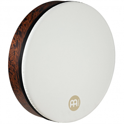 (B-Ware) Meinl FD18T-D-TF True Feel Synthetic Tar 18 Zoll, Rahmentrommel, Brown Burl