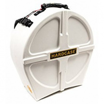 Hardcase HNP14S-W White snare drum case, 14-inch