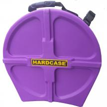 Hardcase HNP14S-PU Purple snare drum case, 14-inch