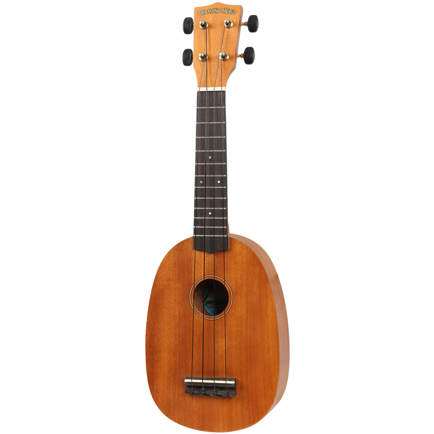 (B Ware) Diamond Head DU 200P Deluxe Natural Pineapple Sopran Ukulele