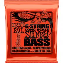Ernie Ball 2838 6-String Long Scale Slinky Bass string set