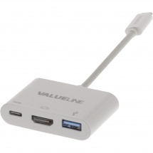 Valueline VLCP64765W02 USB 3.1 adapter, USB C to USB A/USB C/HDMI