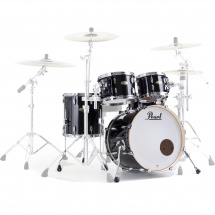Pearl STS904XP Session Std. Select 4-piece shell set, Piano Black