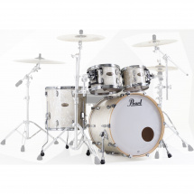 Pearl STS924XSP Session Std. Select 4-piece shell set, White Marine