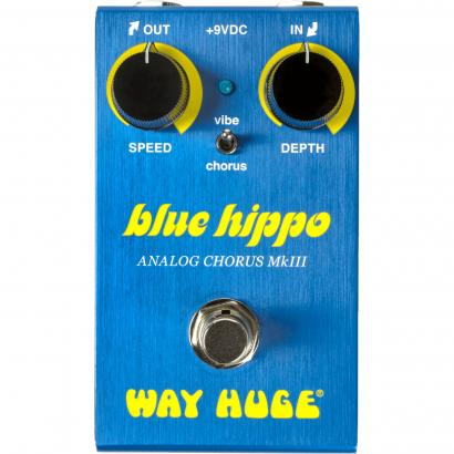 Way Huge WM61 Smalls Blue Hippo analogue chorus effects pedal