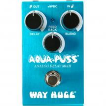 Way Huge WM71 Smalls Aqua-Puss analogue delay effects pedal
