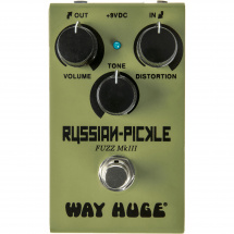 Way Huge WM42 Smalls Russian Pickle analogue fuzz effects pedal
