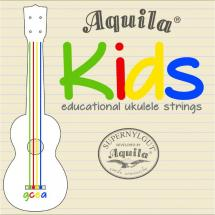 Aquila 138U Kids Multi Color Educational Ukulele Strings
