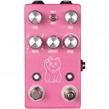 JHS Pedals Lucky Cat Delay Pink