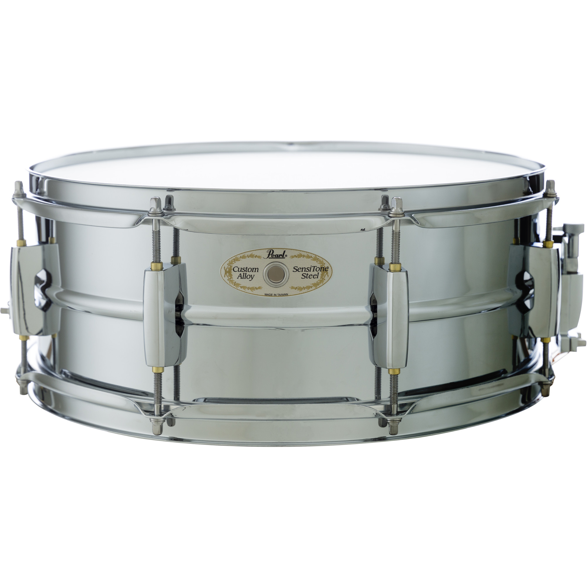 Pearl LMSS1455 Limited SensiTone snare drum, 14 x 5.5 inch, chrome
