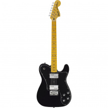 (B-Ware) Squier Vintage Modified Telecaster Deluxe Black MN Black MN