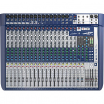 (B-Ware) Soundcraft Signature 22 analoges Mischpult, 22 Kanäle