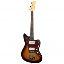 Squier Vintage Modified Jazzmaster 3-Color Sunburst E-Gitarre, 3-color Sunburst RW