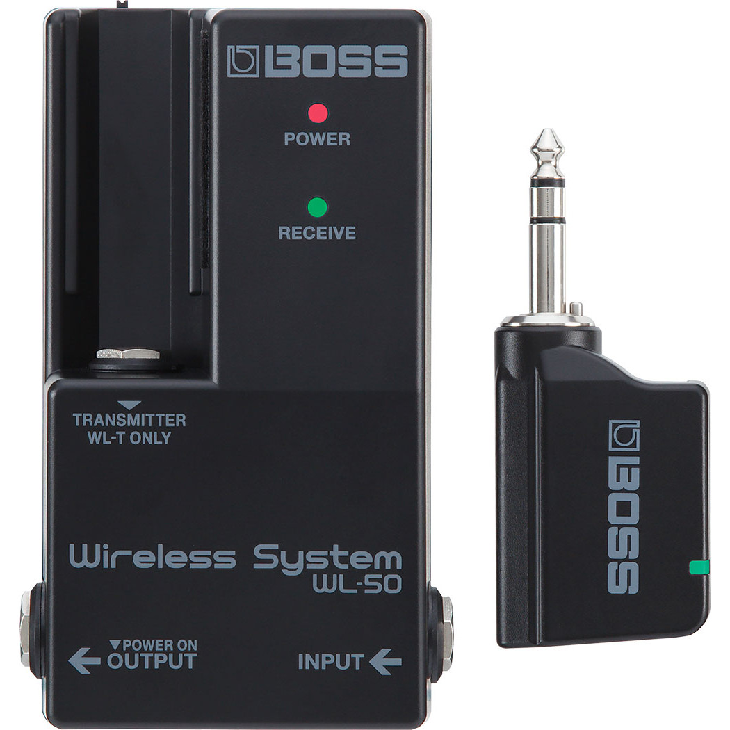 Boss WL 50 wireless system for electronic instruments