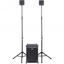 (B-Ware) HK Audio Lucas Nano 605 FX 2.1 mobiele speakerset incl. mixer