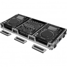 (B-Ware) Odyssey FZ12CDJWXD Flightcase für DJ-Mixer & 2 Media-Player
