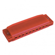 (B-Ware) Hohner Happy Color Harp Mundharmonika rot