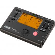 Korg TM-60 combo tuner and metronome, black