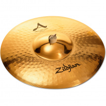 Zildjian A-series Mega Bell ride cymbal: 21 in