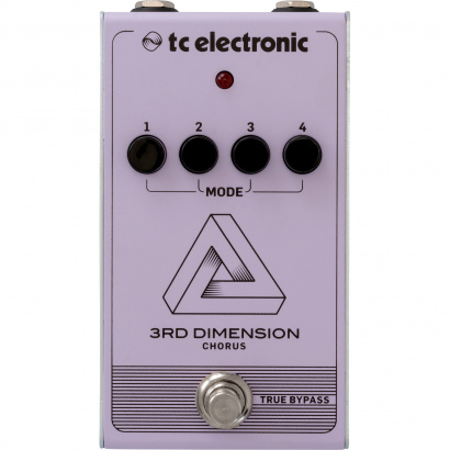 (B-Ware) TC Electronic 3rd Dimension Chorus effects pedal