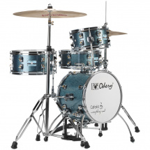 (B-Ware) Odery Cafe Kit Blue Sparkle 4-delige shellset incl hardware