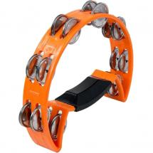 Luen Pandeirola Laranja headless tambourine, orange