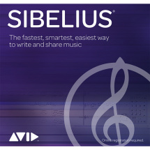 Avid Sibelius updates & support extension (1 year), (dl)