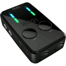 (B-Ware) IK Multimedia iRig Pro DUO Audio-Interface PC, Mac, iOS, Android