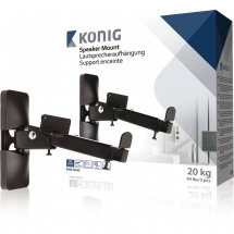 (B-Ware) Konig KNM-SM20 speaker bracket (set of 2)