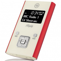 (B-Ware) View Quest Blighty portable radio, red