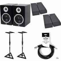 Devine MR-5A + stands + pads + cables