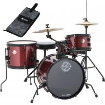 Ludwig LC178X025DIR Questlove Pocket Kit Red Wine starter set