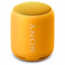 Sony SRS-XB10 portable Bluetooth speaker, yellow