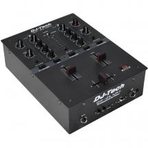 DJ Tech DIF-2S MKII 2-channel DJ Scratch mixer