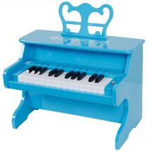 iDance myPiano portable children's piano with Bluetooth (blue)