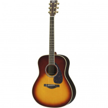 (B-Ware) Yamaha LL6 ARE Brown Sunburst Westerngitarre mit Tonabnehmer