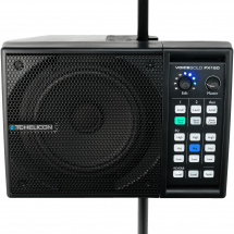 TC Helicon VoiceSolo FX150 active floor monitor, 150 watts