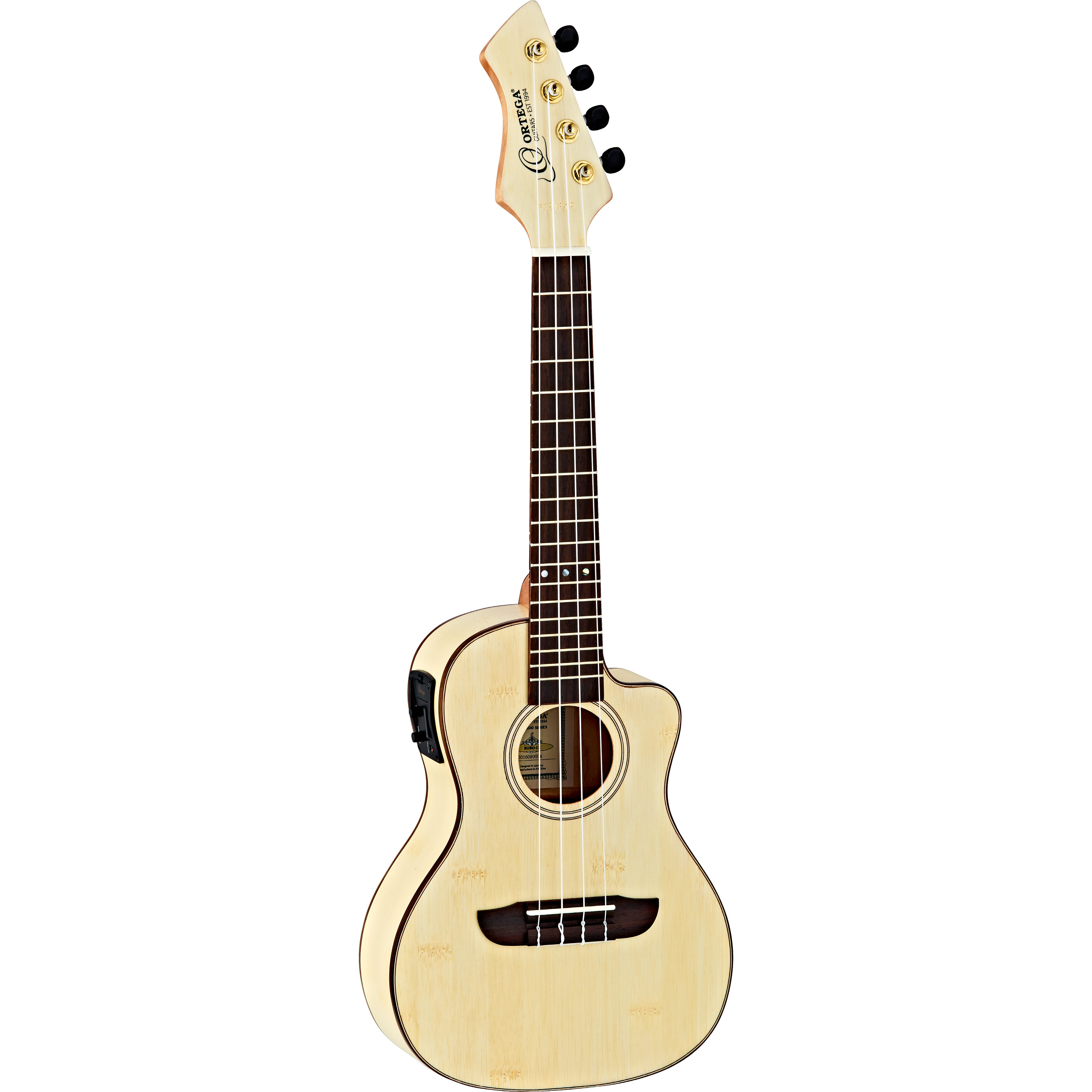 Ortega Horizon Series RUBO CE electro acoustic concert ukulele with gig bag