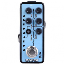 Mooer Micro Preamp 018 Custom 100 overdrive effects pedal